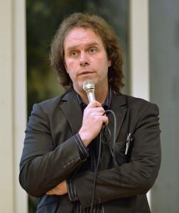Pär Holmgren föreläser om klimatutmaningen januari 2014.
