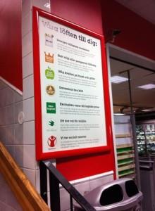 Butikskontroll av Bra Miljöval-märkt butik